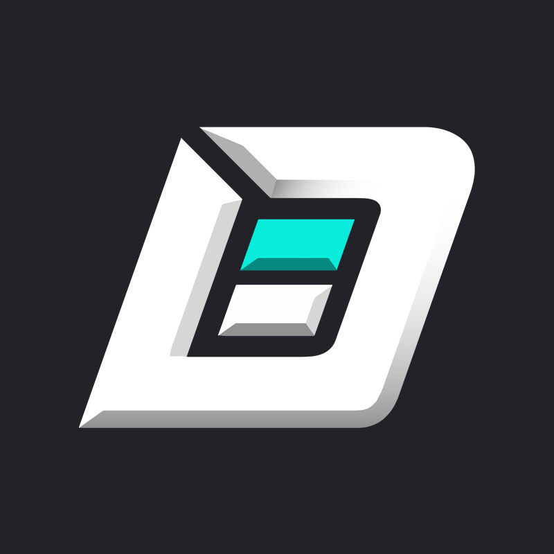 D Slant Logo